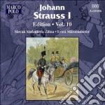 Strauss Johann I - Edition, Vol.10 cd musicale di Strauss johann i