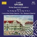 Quartetti per archi (integrale) vol. 15 cd musicale di Louis Spohr