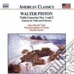 Piston Walter - Concerto X Vl N.1, N.2 cd musicale di Walter Piston