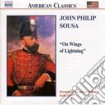 Sousa John Philip - On Wings Of Lightning cd musicale di Sousa john philip
