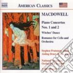 Edward Macdowell - Concerto X Pf N.1 Op.15, N.2 Op.22, Hexentanz Op.17 N.2, Romanza X Vlc E Orchest cd musicale di Edward Macdowell
