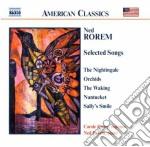 Liriche (songs, selezione) cd musicale di Ned Rorem