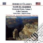 Cello concerto medea adagio cd musicale di Samuel Barber