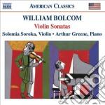 Bolcom William - Sonate Per Violino cd musicale di William Bolcom
