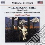Still William Grant - Opere Per Pianoforte cd musicale di Still william grant