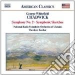 Chadwick George Whitefield - Sinfonia N.2, Schizzi Sinfonici cd musicale di Chadwick george whit