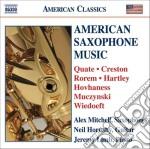American saxophone music cd musicale di Miscellanee
