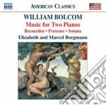Bolcom William - Music For Two Pianos cd musicale di William Bolcom
