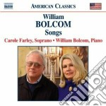 Bolcom William - Songs cd musicale di William Bolcom