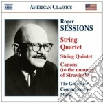 Sessions Roger - Quintetto Per Archi, Quartetto N.1, 6 Pieces, Canons cd musicale di Roger Sessions