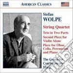 Wolpe Stefan - Chamber Music cd musicale di Stefan Wolpe