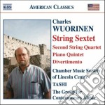 Wuorinen Charles - String Sextet cd musicale di Charles Wuorinen