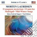 Lauridsen Morten - Musica Corale cd musicale di Morten Lauridsen