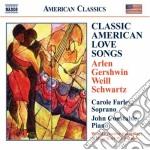 Classic american love songs cd musicale