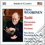 Charles Wuorinen - Tashi, Percussion Quartet, Fortune cd musicale di Charles Wuorinen