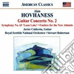 Hovhaness Alan - Concerto Per Chitarra N.2, Sinfonia N.63, Fanfare For The New Atlantis cd musicale di Alan Hovhaness