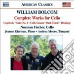 Opere per violoncello (integrale) cd musicale di William Bolcom