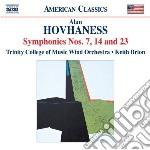 Hovhaness Alan - Sinfonia N.7, N.14, N.23 cd musicale di Alan Hovhaness