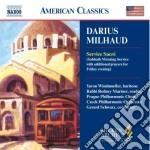 Darius Milhaud - Service Sacre' cd musicale di Darius Milhaud