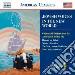 Jewesh voices in the new world cd musicale