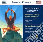 Sacred service for the sabbath evening ( cd musicale di Zaimont judith lang