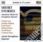 Short Stories - Musica Americana Per Quartetto Di Sassofoni cd musicale