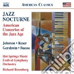 American Concertos Of The Jazz Age - Jazz Nocturne cd musicale di Miscellanee