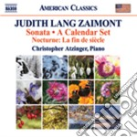 Judith Lang Zaimont - Sonata - A Calendar Set cd musicale di Zaimont judith lang