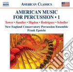 American music for percussion, vol.1 cd musicale di Miscellanee