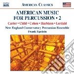 American music for percussion, vol.2 cd musicale di Miscellanee