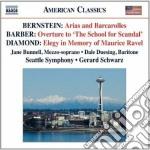 Bernstein Leonard - Arias And Barcarolles cd musicale di Leonard Bernstein