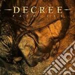 Decree - Fatelss cd musicale di Decree
