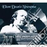Live at the 100 club 1979 cd musicale di Elton dean s ninesen
