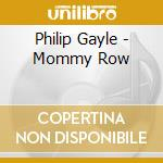 The mommy row cd musicale