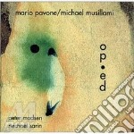 Op-ed - cd musicale di Mario pavone & michael musilla