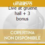 Live at gruene hall + 3 bonus cd musicale di Jason Allen