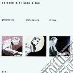 Moments standards live cd musicale di Carsten dahl solo pi