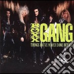 Things you've never done cd musicale di Gang Roxx