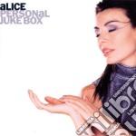 PERSONAL JUKE BOX cd musicale di ALICE