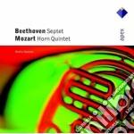Beethoven - Mozart - Berlin Soloists - Apex: Settimino Op. 20 - Quintetto Per Corno Kv407 cd musicale di Beethoven - mozart\b