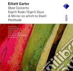 Carter - Boulez - Holliger - Apex: Concerto Per Oboe-esprit Rude Esprit Doux cd musicale di Carter\boulez - holl