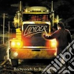 Glyder - Backroads To Byzantium cd musicale di Glyder