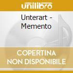 Unterart - Memento cd musicale di UNTERART