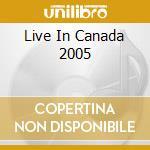 LIVE IN CANADA 2005 cd musicale di RHAPSODY