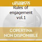 Rules of engagement vol.1 cd musicale di Dominic duval & mark