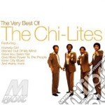 THE VERY BEST OF cd musicale di CHI-LITES