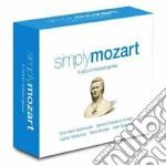 SIMPLY MOZART (BOX 4 CD) cd musicale di Wolfgang Amadeus Mozart