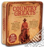 COUNTRY GREATS                            cd musicale di Country greats aa.vv