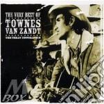THE VERY BEST OF (2CD) cd musicale di TOWNES VAN ZANDT