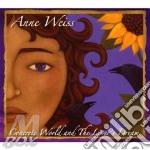 CONCRETE WORLDAND THE LOVER'S DREAM cd musicale di WEISS ANNE